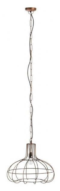J-Line Hanglamp 'Rigobert' kleur Koper, Ø44cm