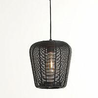 Light & Living Hanglamp 'Adeta' 23cm, mat zwart