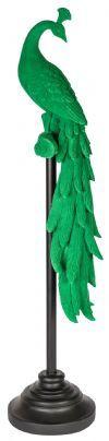 PTMD Ornament 'Keano', Velvet, 97 x 24 x 28 cm, kleur Groen