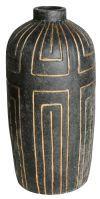 PTMD Pot 'Davian', Keramiek, 45 x 20cm, kleur Grijs