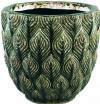 PTMD Pot 'Skipp', Keramiek, 38 x 40cm, kleur Groen