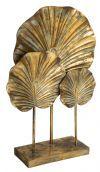 PTMD Decoratie 'Silya', Metaal, 53 x 12 x 34cm, kleur Goud