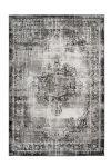 Kayoom Vloerkleed 'Ariya 225' kleur Antraciet, 80 x 150cm