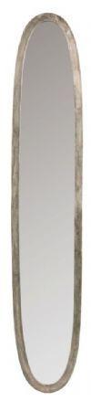J-Line Ovale Spiegel 'Josee' Large, kleur Antiek Grijs