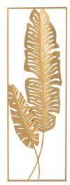 J-Line Wandpaneel 'Francina' 89.5 x 31cm, kleur Goud