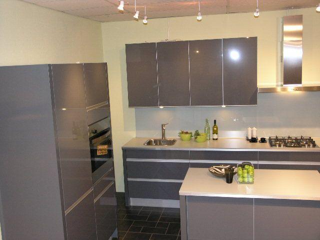 Keuken Grijs Hoogglans : Showroomkorting.nl De voordeligste woonwinkel van Nederland!