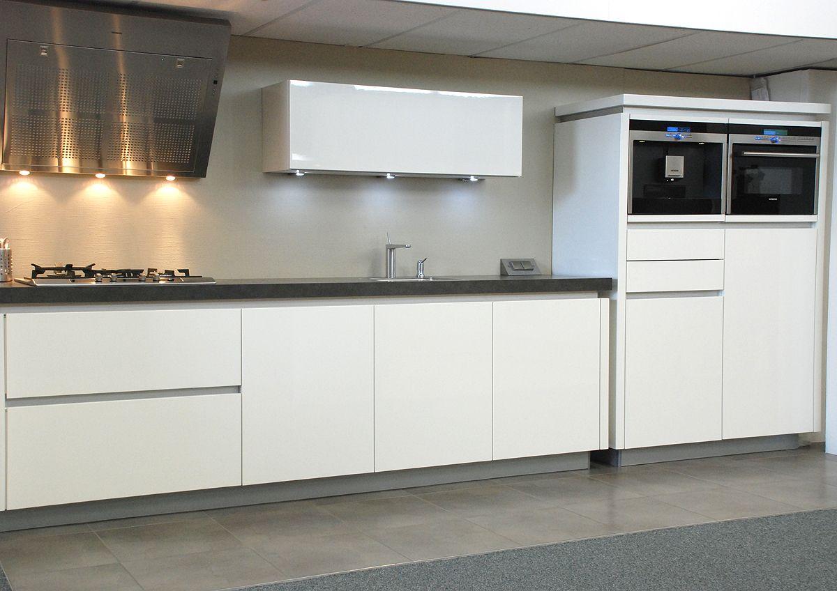Witte keuken kleur muur beste inspiratie voor interieur design en meubels idee n - Kleur witte keuken ...